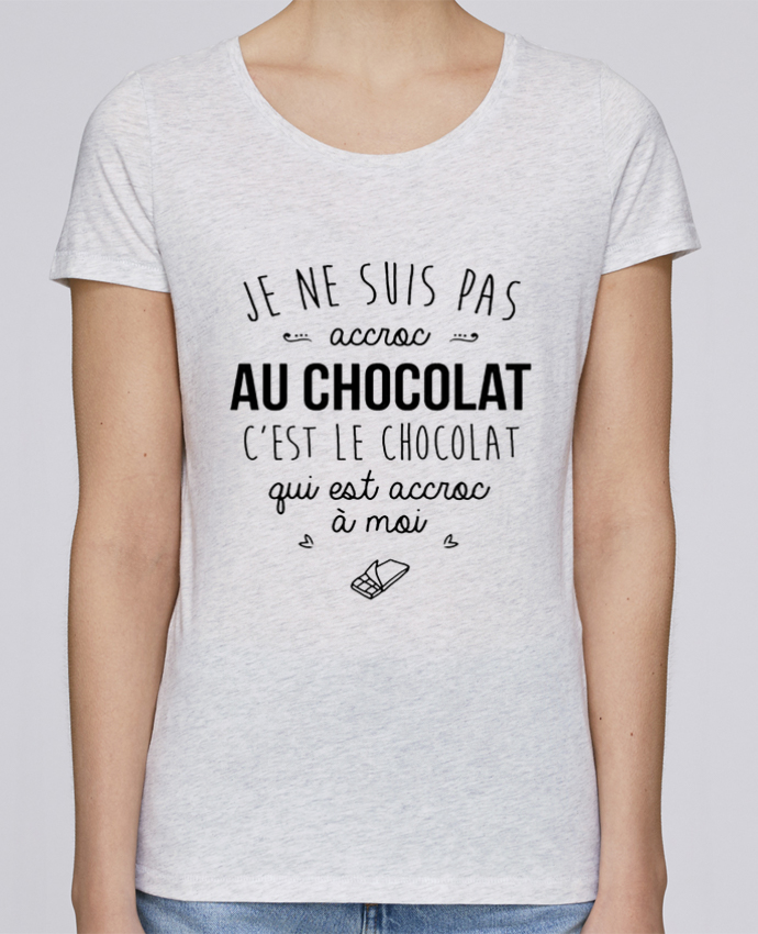 T-shirt Femme Stella Loves choco addict par DesignMe