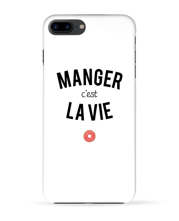 Coque 3D Iphone 7+ Manger c