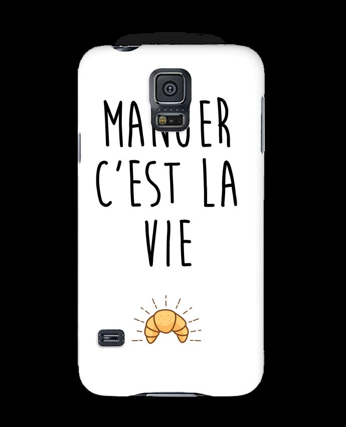 Coque 3D Samsung Galaxy S5 Manger c'est la vie par tunetoo