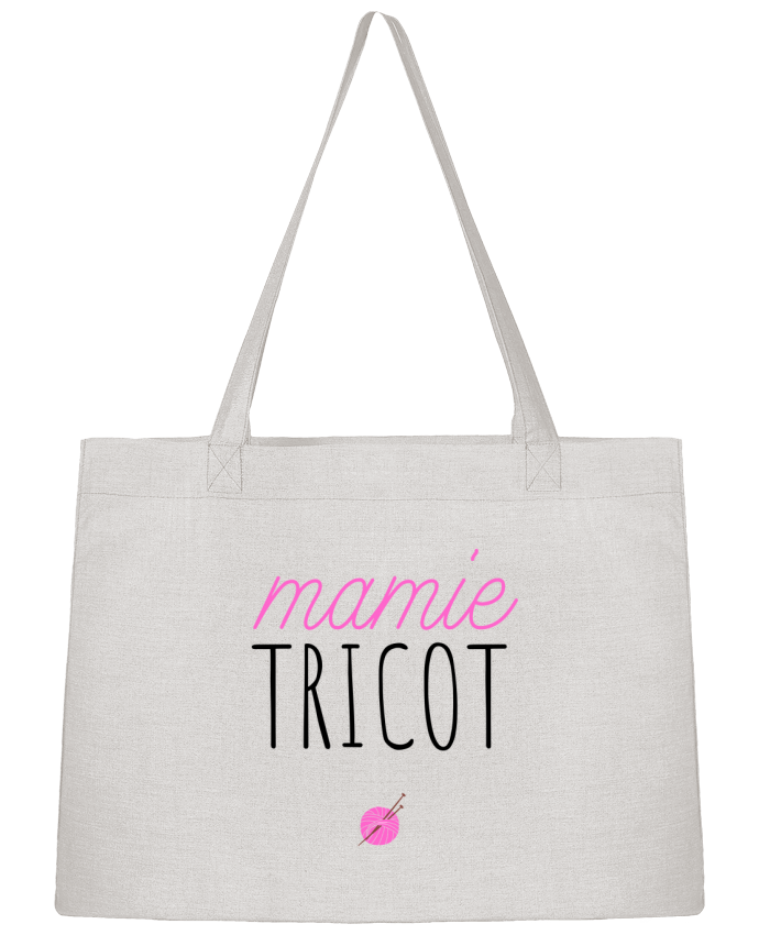Sac Cabas Shopping Stanley Stella Mamie tricot par tunetoo