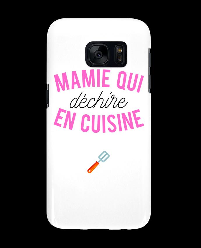 Coque 3D Samsung Galaxy S7 Mamie qui déchire en cuisine par tunetoo