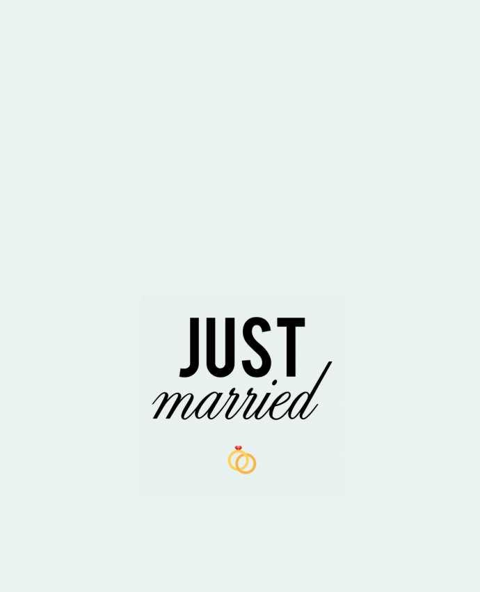 Sac en Toile Coton Just married par tunetoo