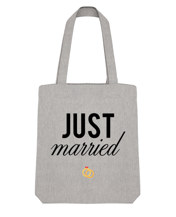 Tote Bag Stanley Stella Just married par tunetoo