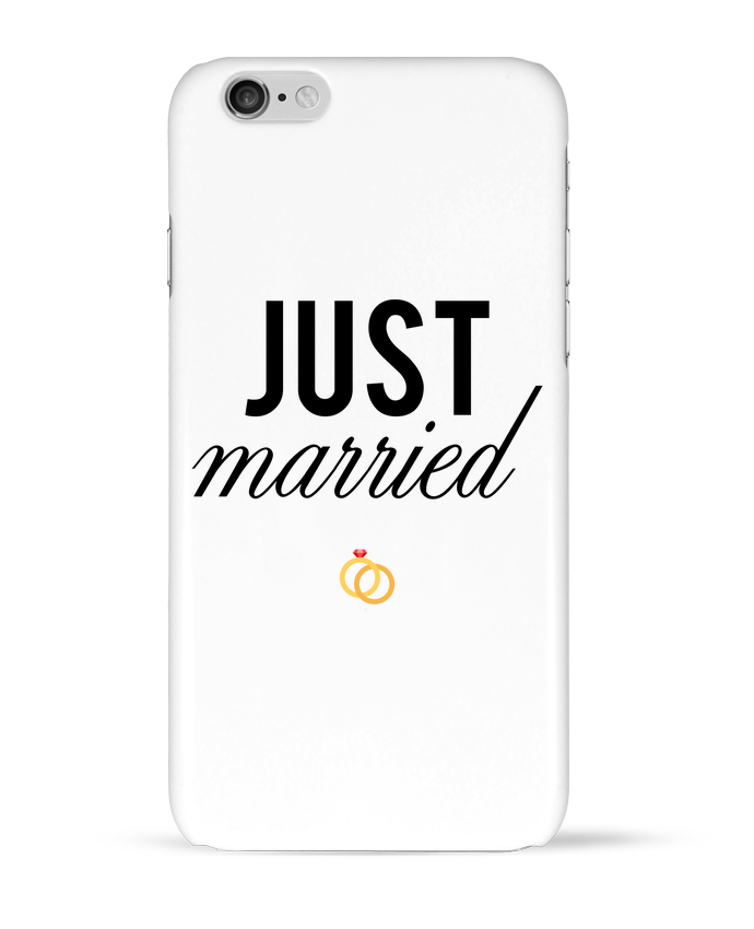 Coque 3D Iphone 6 Just married par tunetoo