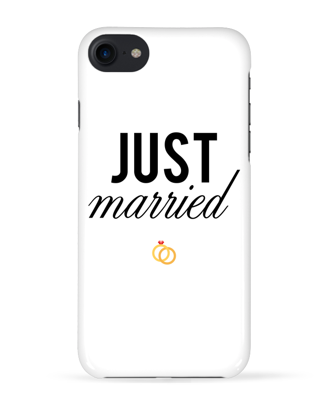 coque 3d iphone 7 just married tunetoo