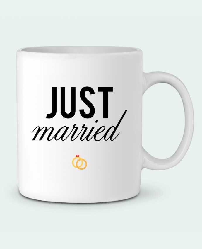 Mug en Céramique Just married par tunetoo