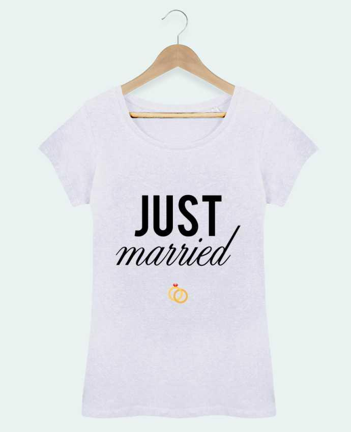 T-shirt Femme Stella Loves Just married par tunetoo