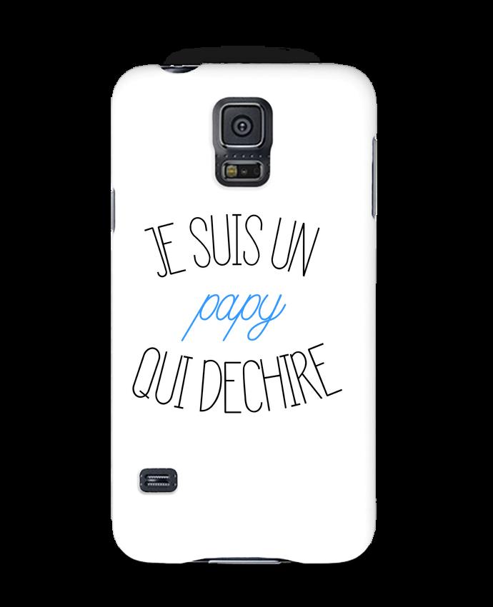 Coque 3D Samsung Galaxy S5 Je suis un papy qui déchire par tunetoo