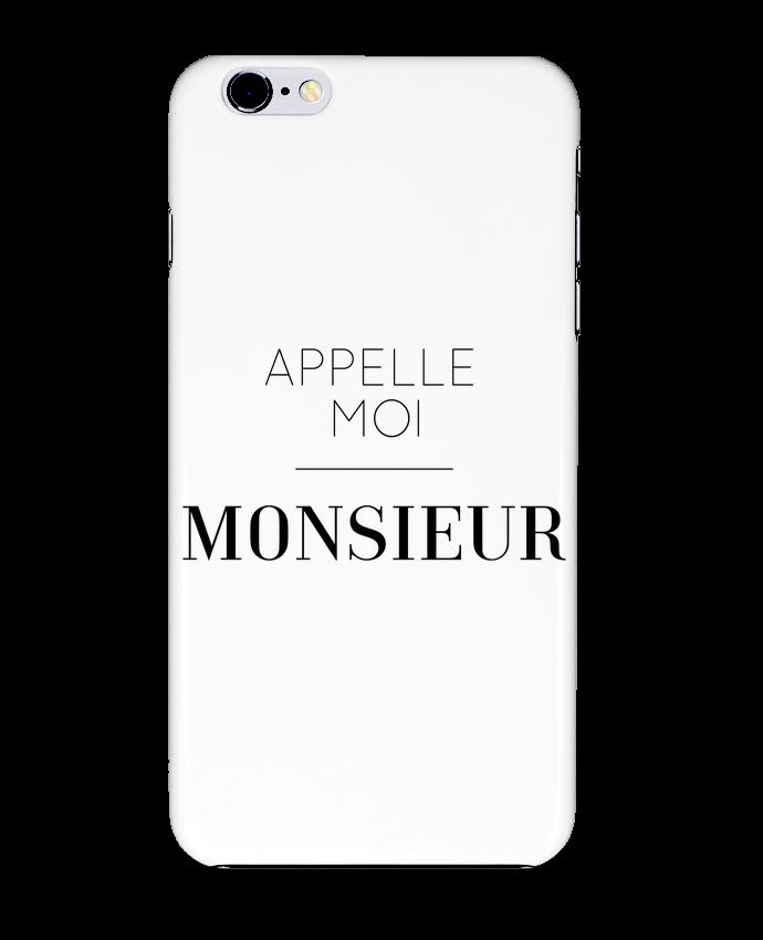 Coque 3D Iphone 6+ Appelle moi Monsieur de tunetoo