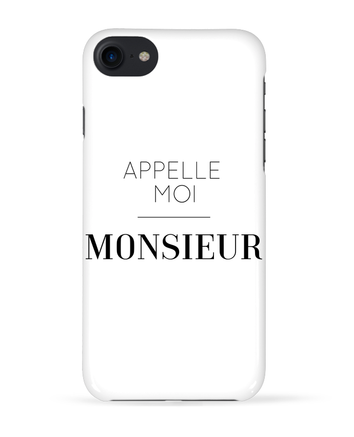 Coque 3D Iphone 7 Appelle moi Monsieur de tunetoo