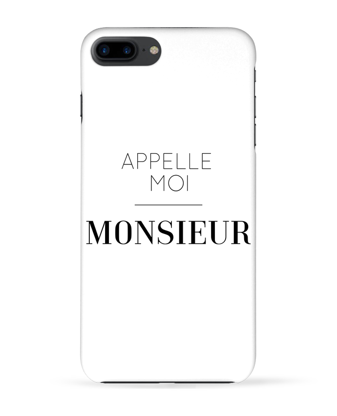 Coque 3D Iphone 7+ Appelle moi Monsieur par tunetoo