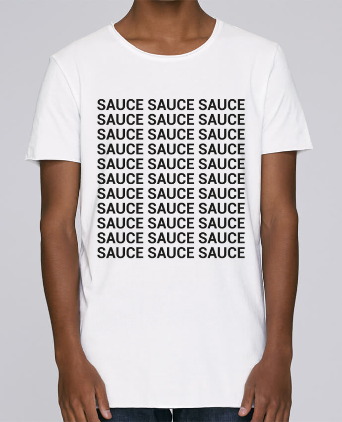 T-shirt Homme Oversized Stanley Skates Sauce par tunetoo