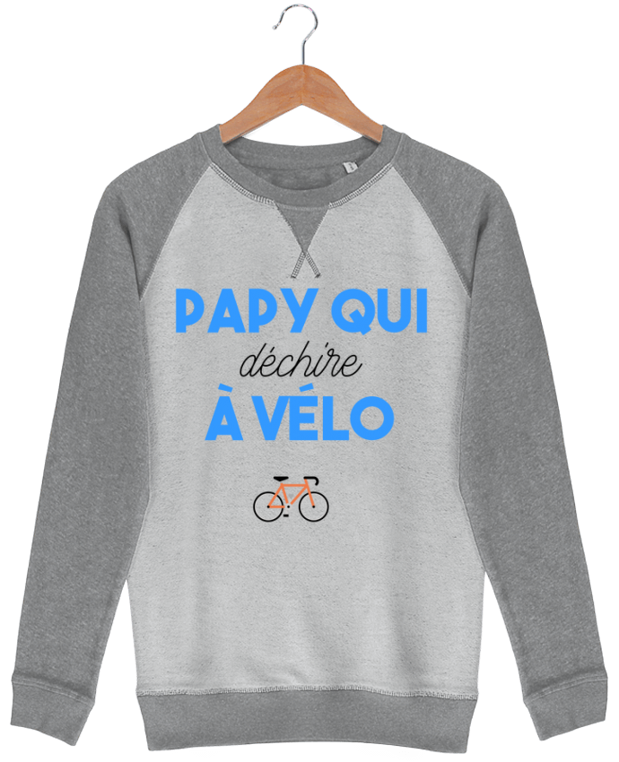 Sweat French Terry Papy qui déchire à Vélo par tunetoo