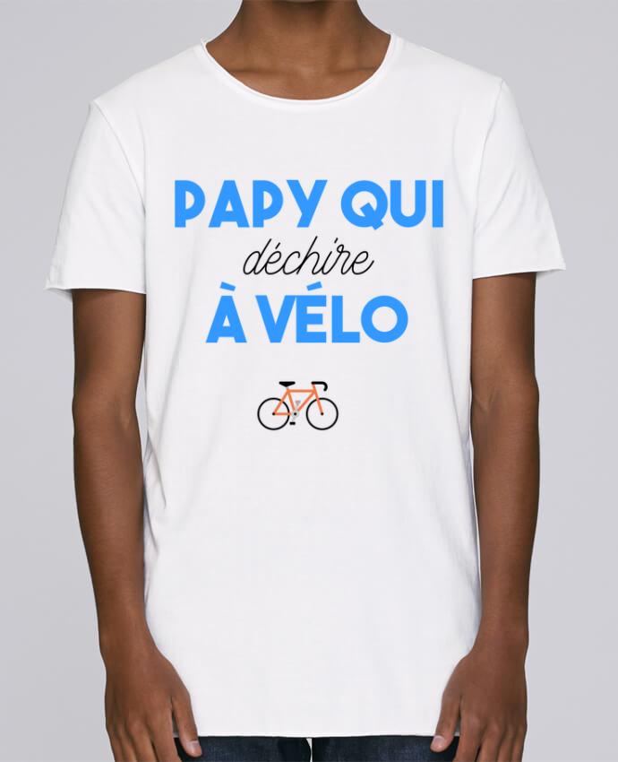 T-shirt Homme Oversized Stanley Skates Papy qui déchire à Vélo par tunetoo