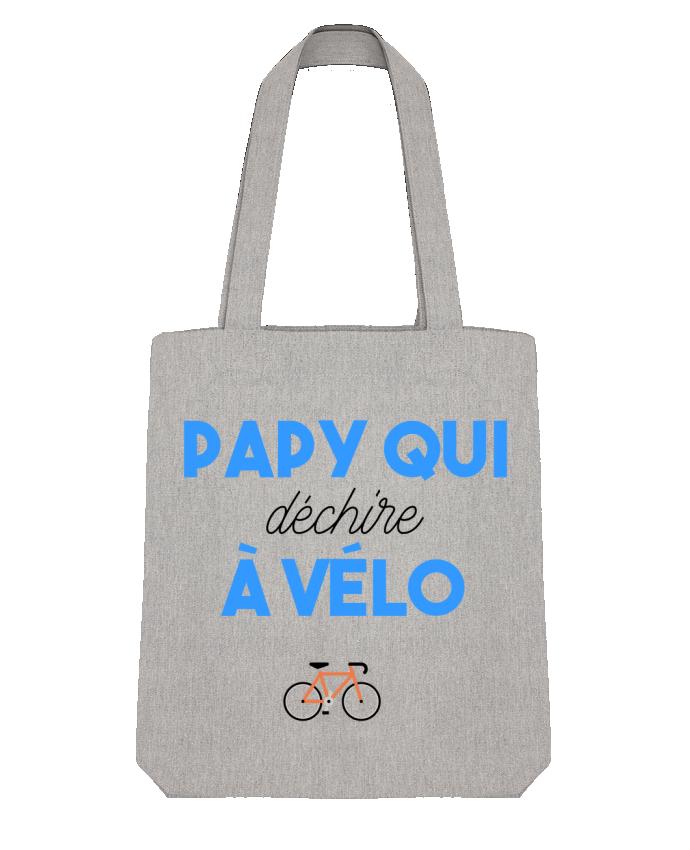 Tote Bag Stanley Stella Papy qui déchire à Vélo par tunetoo