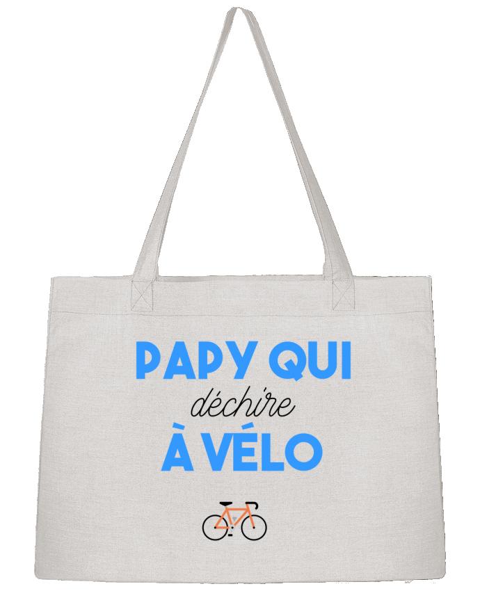 Sac Cabas Shopping Stanley Stella Papy qui déchire à Vélo par tunetoo
