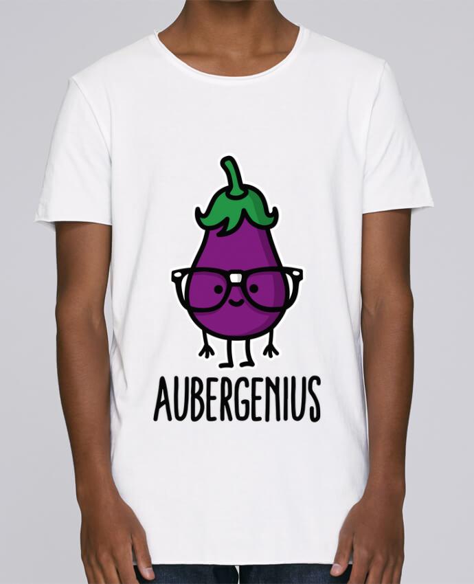 T-shirt Homme Oversized Stanley Skates Aubergenius par LaundryFactory