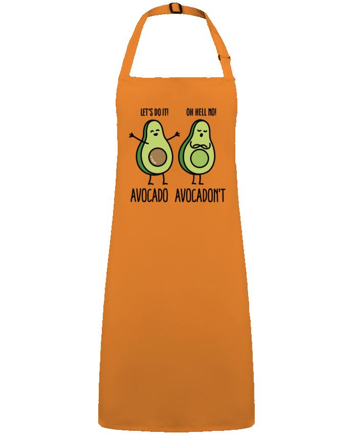 Tablier Sans Poche Avocado avocadont par  LaundryFactory