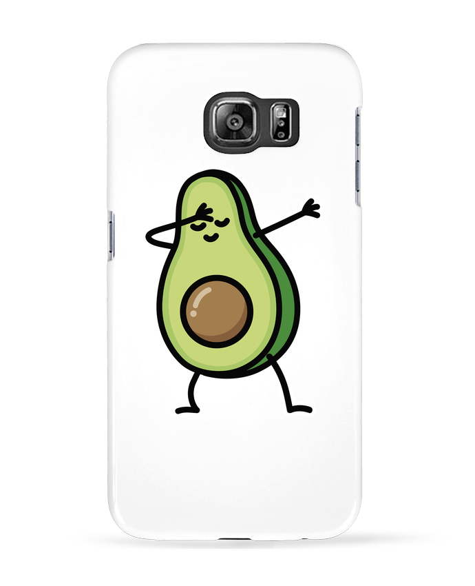 Coque 3D Samsung Galaxy S6 Avocado dab - LaundryFactory