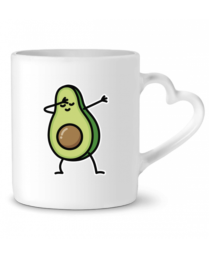 Mug Coeur Avocado dab par LaundryFactory