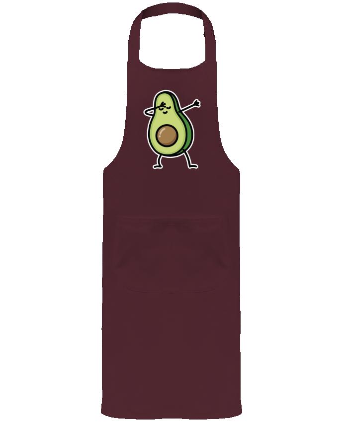 Tablier de Jardinier ou Sommelier avec Poche Avocado dab par LaundryFactory