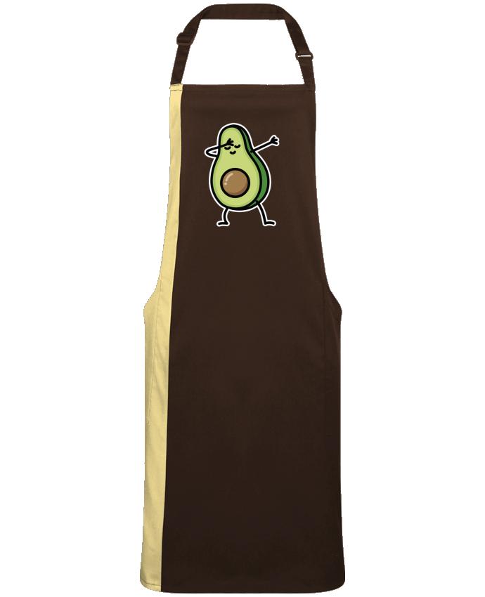 Tablier bicolore Avocado dab par  LaundryFactory