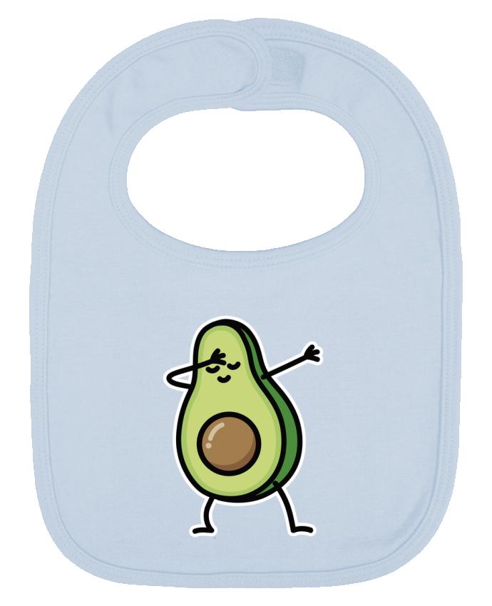 Bavoir Uni et Contrasté Avocado dab par LaundryFactory
