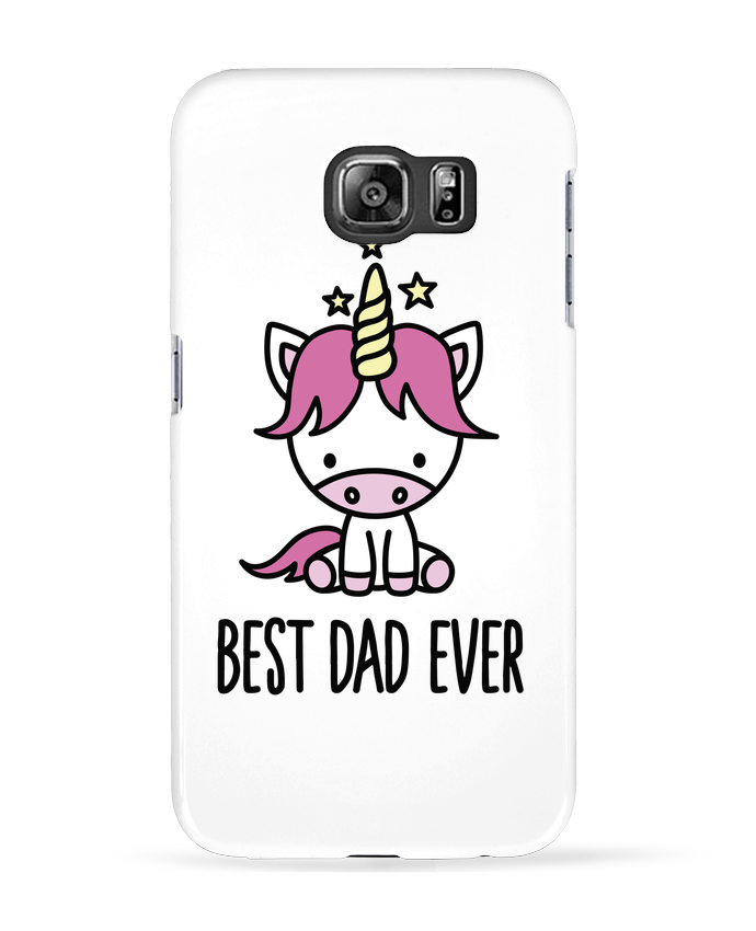 Coque 3D Samsung Galaxy S6 Best dad ever - LaundryFactory