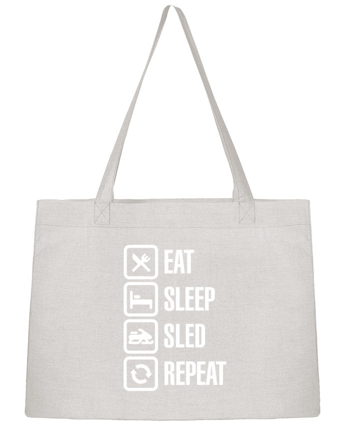 Sac Cabas Shopping Stanley Stella Eat, sleep, sled, repeat par LaundryFactory