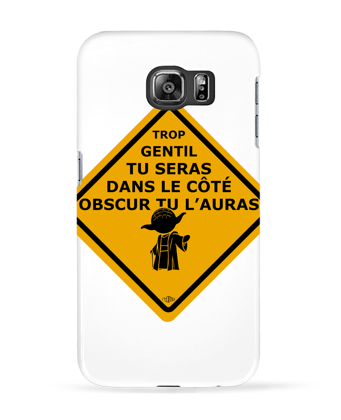 Coque 3D Samsung Galaxy S6 Yoda - Star Wars - rtom13