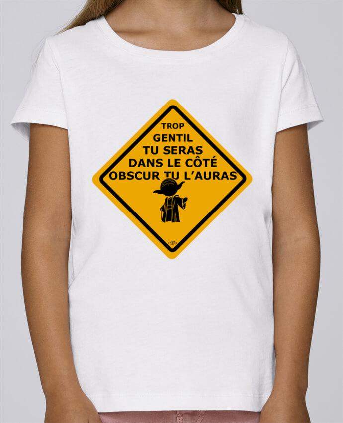 T-shirt Fille Mini Stella Draws Yoda - Star Wars par rtom13