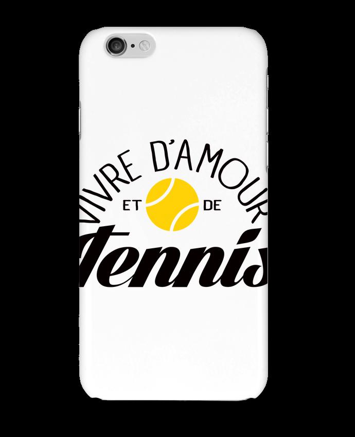 2573861 coque 3d iphone 6 blanc vivre d amour et de tennis by freeyourshirt com
