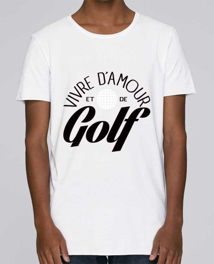 T-shirt Homme Oversized Stanley Skates Vivre d'Amour et de Golf par Freeyourshirt.com