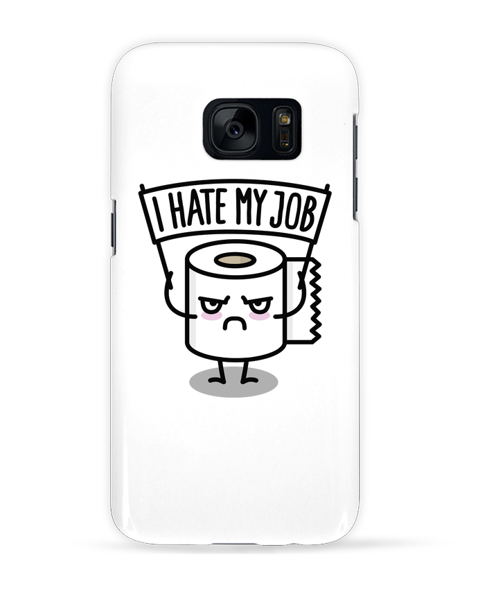 Coque 3D Samsung Galaxy S7 I hate my job par LaundryFactory