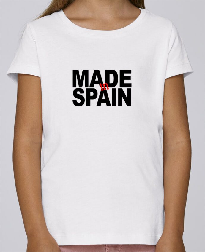 T-shirt Fille Mini Stella Draws MADE IN SPAIN par 31 mars 2018