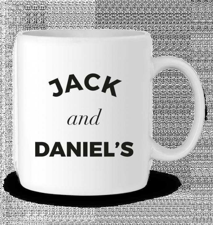 Mug en Céramique Jack and Daniels par Ruuud