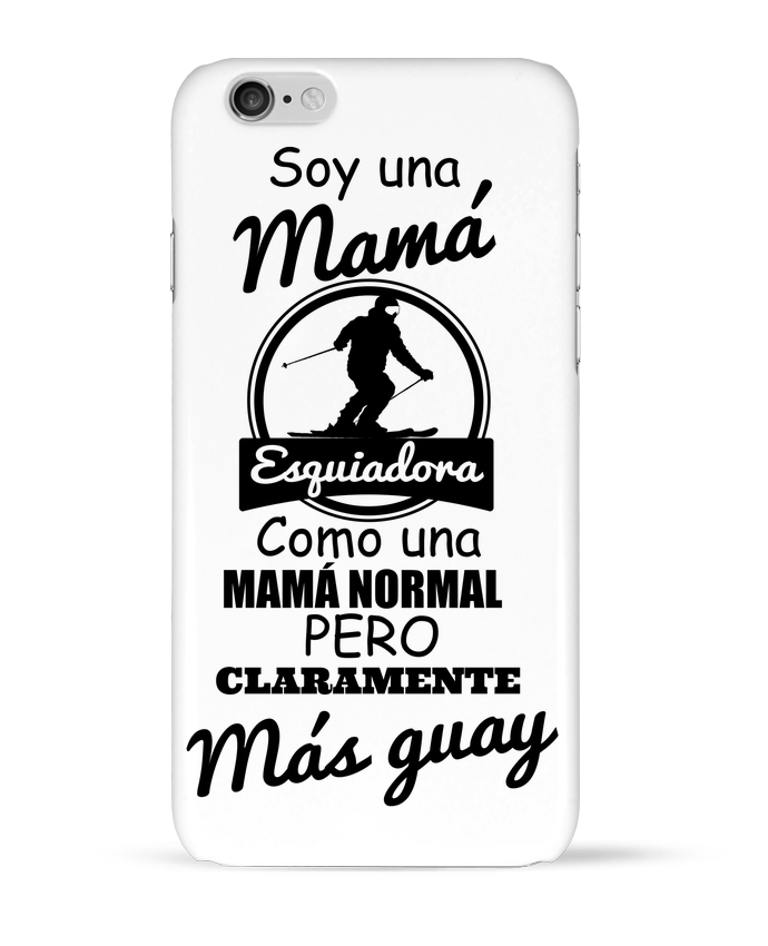 Coque 3D Iphone 6 Mamá esquiadora par tunetoo