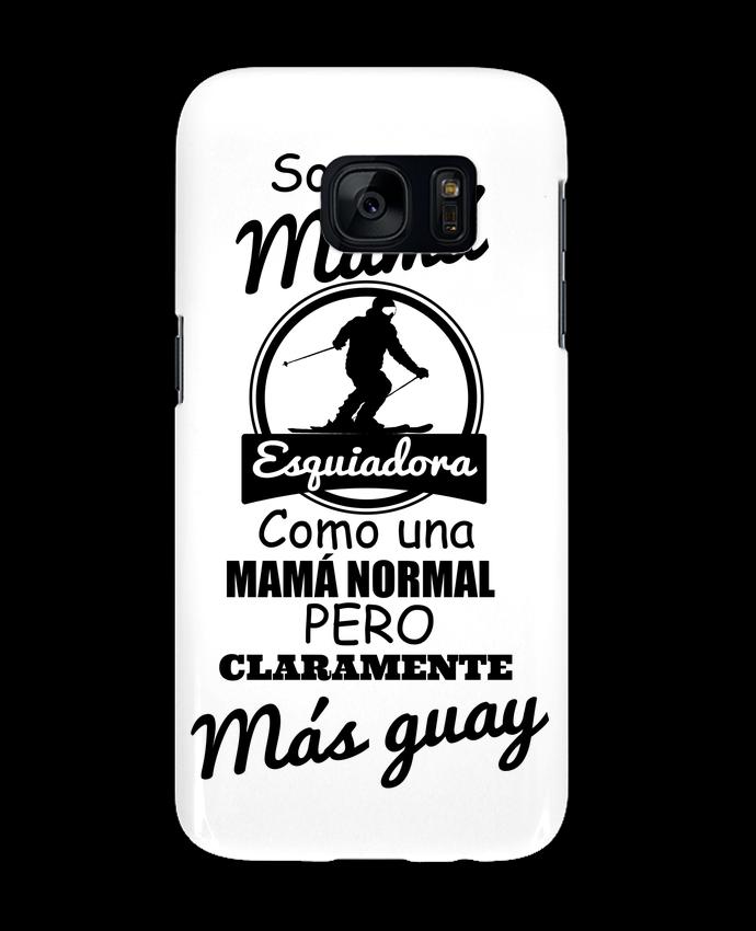Coque 3D Samsung Galaxy S7 Mamá esquiadora par tunetoo