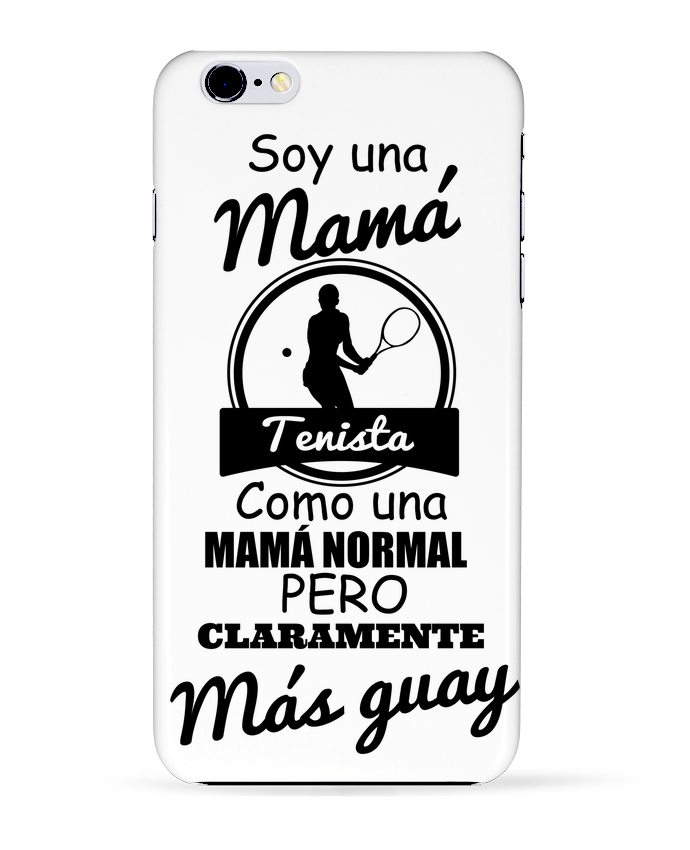 Coque 3D Iphone 6+ Mamá tenista de tunetoo