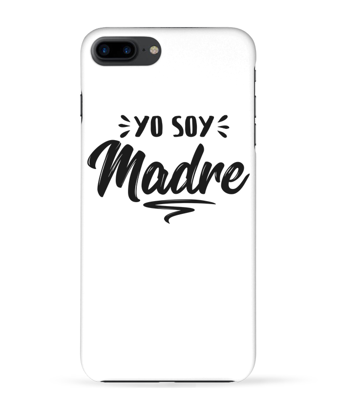 Coque 3D Iphone 7+ Soy madre par tunetoo
