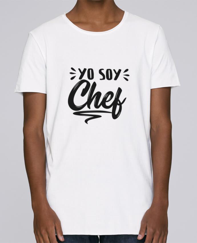 T-shirt Homme Oversized Stanley Skates soy chef par tunetoo