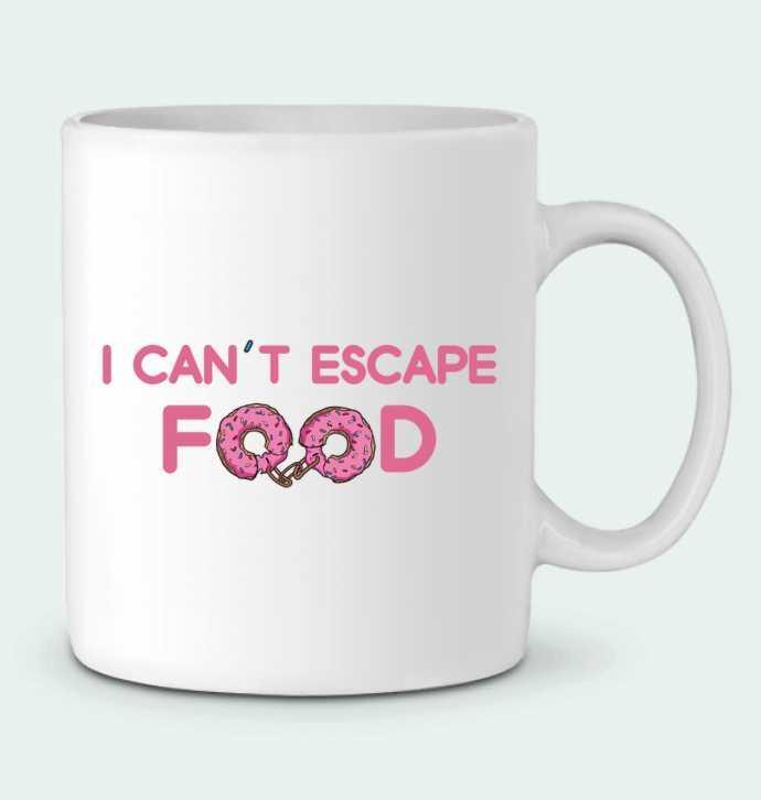 Mug en Céramique I can't escape food par tunetoo
