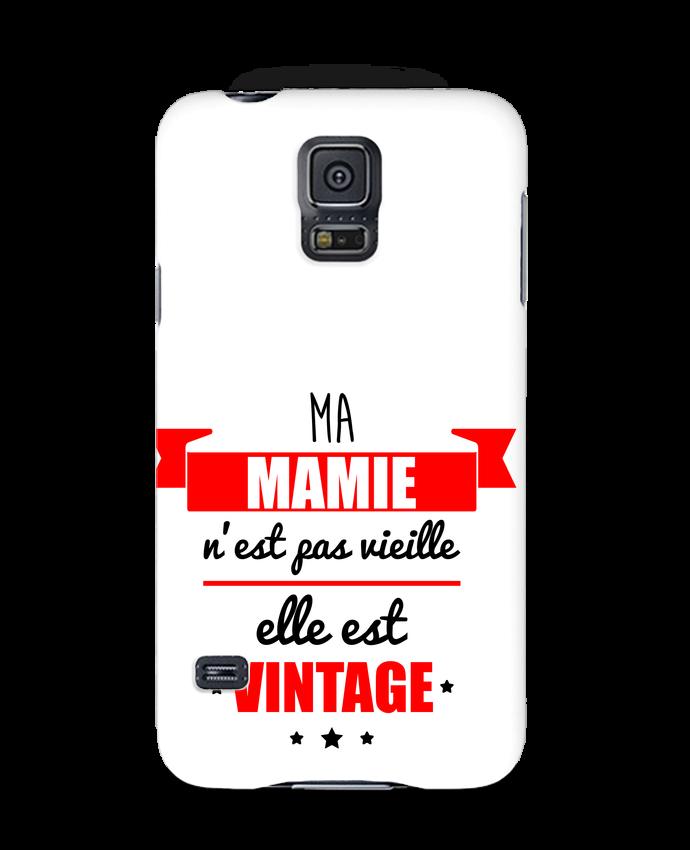 Coque 3D Samsung Galaxy S5 Ma mamie n'est pas vieille elle est vintage par Benichan