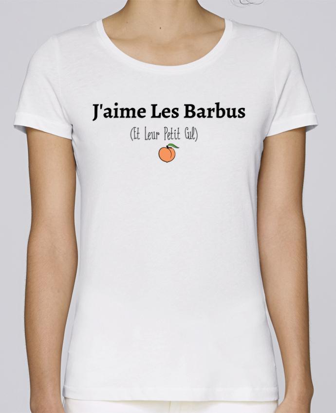 T-shirt Femme Stella Loves J'aime les barbus et leur petit cul par tunetoo