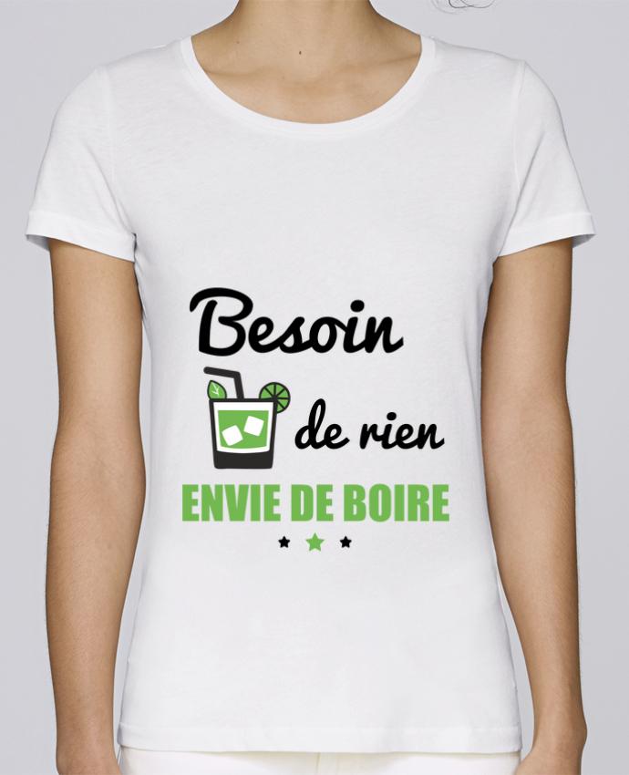 T-shirt Femme Stella Loves Besoin de rien, envie de boire par Benichan