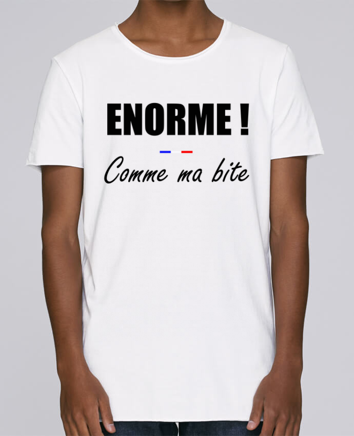 T-shirt Homme Oversized Stanley Skates Énorme comme ma bite par tunetoo