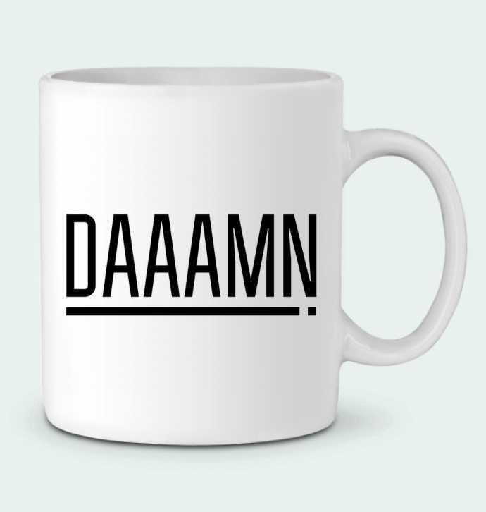 Mug en Céramique Daaamn ! par tunetoo