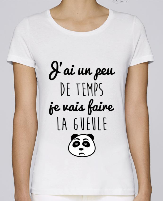 T-shirt Femme Stella Loves J'ai un peu de temps je vais faire la gueule par Benichan
