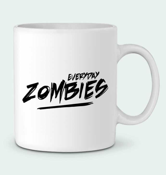 Mug en Céramique Everyday Zombies par tunetoo
