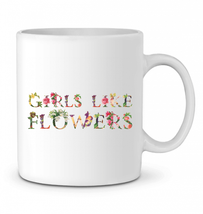 Mug en Céramique Girls like flowers par tunetoo